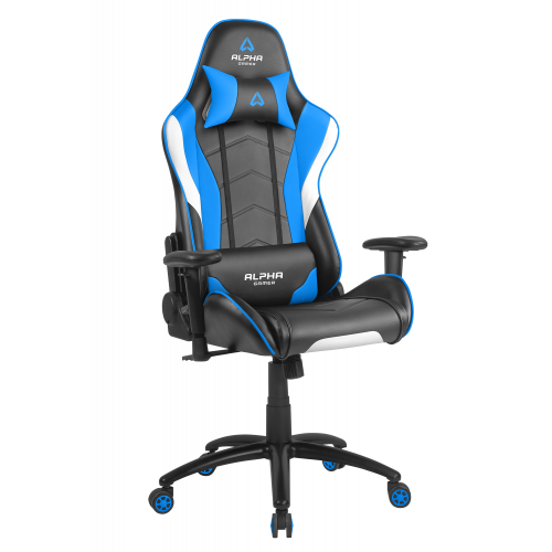GHẾ ALPHA GAMER DELTA SERIS BLACK / WHITE / BLUE