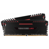 DDR4 Corsair Vengeance LED 16GB (2x8GB) Bus 2666 CMU16GX4M2A2666C16R RED LED