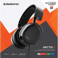 Tai nghe SteelSeries Arctis 3 2019 Edition Black